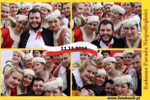 Zdjęcie z fotobudki we Wrocławiu na Dniu Niepodległości 3